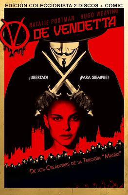 V de Vendetta Edición DVD Steelbook