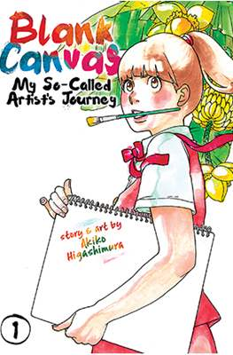 Blank Canvas: My So-Called Artist's Journey (Softcover) #1