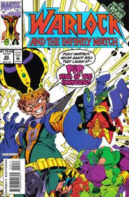 Warlock and the Infinity Watch (Comic-Book) #20