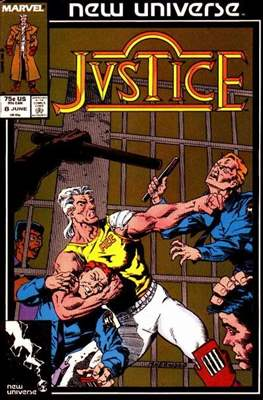 Justice. New Universe (1986) #8