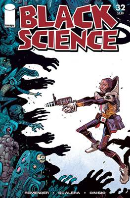 Black Science. Variant Covers (Comic-book) #32.1