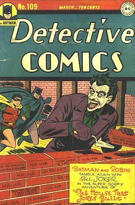 Detective Comics Vol. 1 (1937-2011; 2016-) (Comic Book) #109