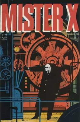 Mister X (Grapa) #10
