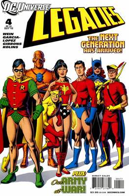 DC universe:  Legacies (Comic book) #4