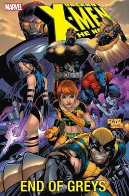 Uncanny X-Men The New Age (Softcover) #4