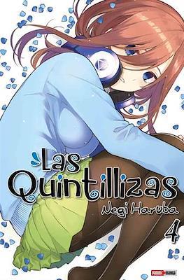 Las Quintillizas (Go-Toubun no Hanayome) (Rústica con sobrecubierta) #4