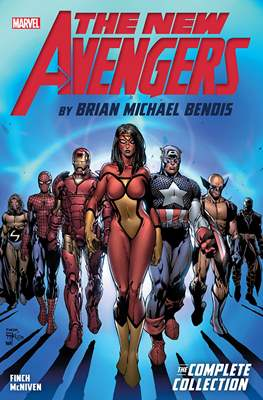 The New Avengers by Brian Michael Bendis: The Complete Collection (Softcover) #1