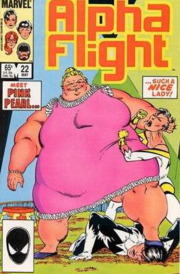 Alpha Flight Vol. 1 (1983-1994) (Comic Book) #22