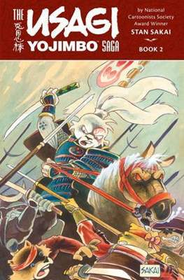 The Usagi Yojimbo Saga #2