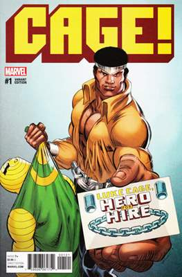 Cage! (2016 Variant Covers) (Comic Book) #1.2