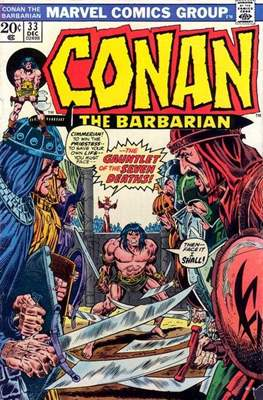 Conan The Barbarian (1970-1993) (Comic Book 32 pp) #33