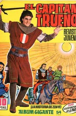 El Capitán Trueno. Album gigante (Grapa 32 pp) #54