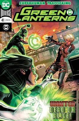Green Lanterns Vol. 1 (2016-2018) (Comic-book) #41