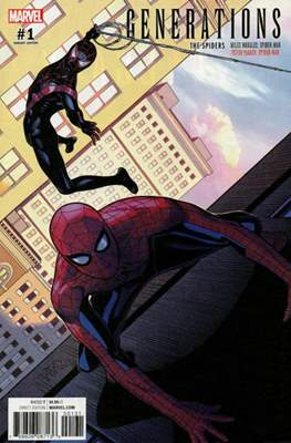 Generations: The Spiders Miles Morales and Peter Parker Spider-Man (Variant Cover) #1.1