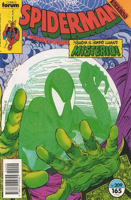 Spiderman Vol. 1 / El Espectacular Spiderman (1983-1994) (Grapa 32-48 pp) #209