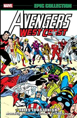 Avengers West Coast Epic Collection (Softcover) #3