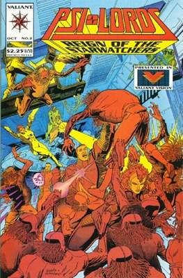 Psi-Lords Vol.1 (Comic Book) #2