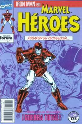Marvel Héroes (1986-1993) (Grapa 32 pp) #54