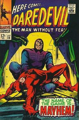 Daredevil Vol. 1 (1964-1998) (Comic Book) #36