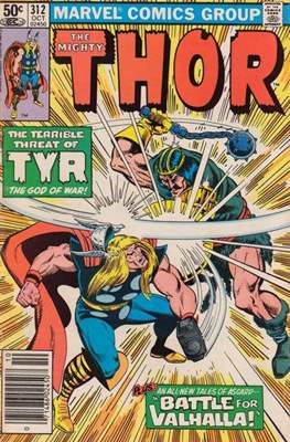Journey into Mystery / Thor Vol 1 (Comic Book) #312