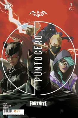 Batman / Fortnite - Punto Cero (Grapa) #1
