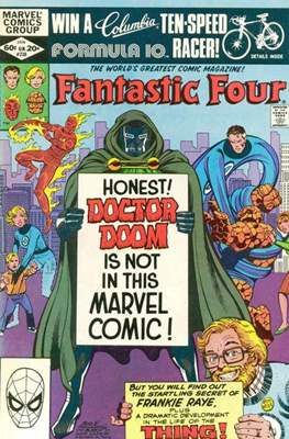 Fantastic Four Vol. 1 (1961-1996) (saddle-stitched) #238
