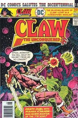 Claw the Unconquered Vol 1 #8