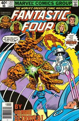 Fantastic Four Vol. 1 (1961-1996) (saddle-stitched) #217