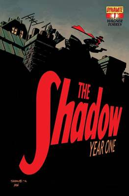 The Shadow Year One (Comic-book) #1