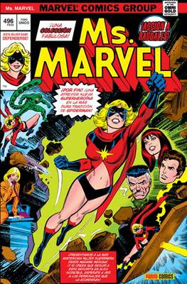 Ms. Marvel. Marvel Gold (Cartoné 496 pp) #