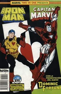 Iron Man Vol. 1 / Marvel Two-in-One: Iron Man & Capitán Marvel (1985-1991) (Grapa, 36-64 pp) #52