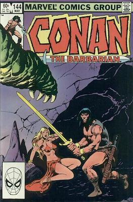 Conan The Barbarian (1970-1993) (Comic Book 32 pp) #144