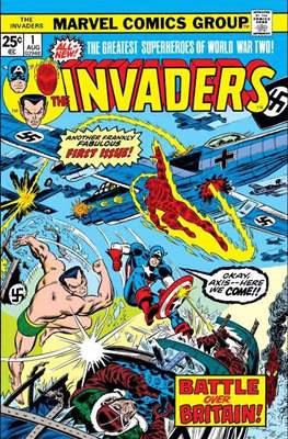 The Invaders (Comic Book. 1975 - 1979) #1