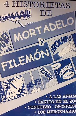4 historietas de Mortadelo y Filemón