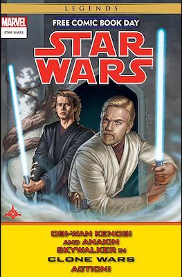 Star Wars - Free Comic Book Day - Obi-Wan Kenobi and Anakim Skywalker in Clone Wars Action