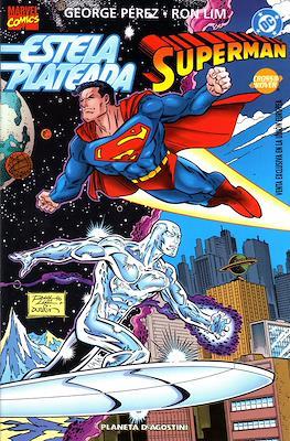 Estela Plateada / Superman (1997). Línea Crossover