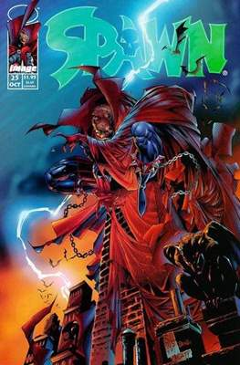 Spawn (Comic Book) #25