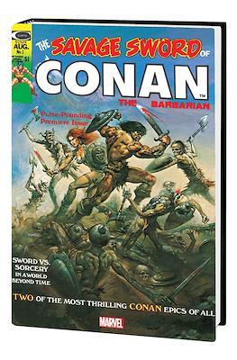 The Savage Sword Conan - Omnibus (Hardcover 776 pp) #1