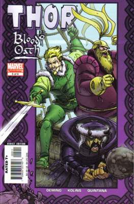 Thor: Blood Oath (2005) (Comic Book) #5