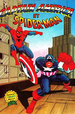 Captain America et Spider-Man