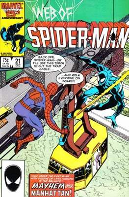 Web of Spider-Man Vol. 1 (1985-1995) (Comic-book) #21