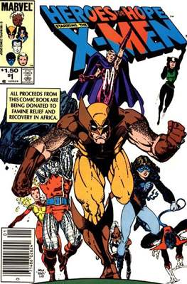 Heroes For Hope Starring The X-Men (1985)