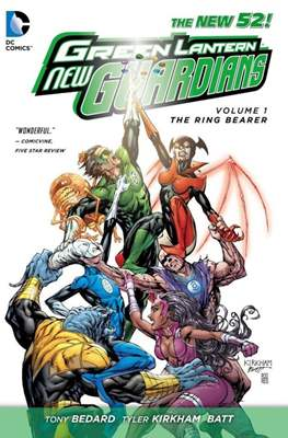 Green Lantern New Guardians - The New 52