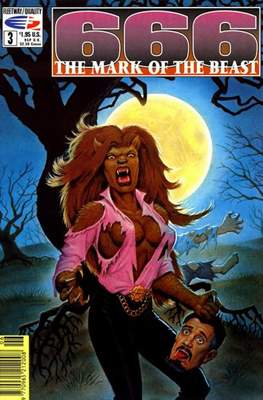 666 The Mark of the Beast (Comic Book) #3
