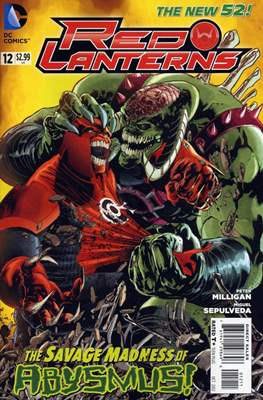 Red Lanterns (2011 - 2015) New 52 #12