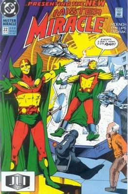 Mister Miracle (Vol. 2 1989-1991) (Comic Book) #22