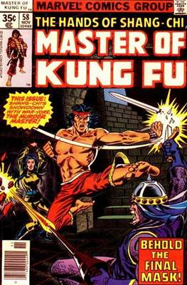 Master of Kung Fu (Comic Book. 1974 - 1983. Continued from Special Marvel Edition #16) #58
