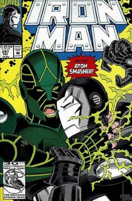 Iron Man Vol. 1 (1968-1996) (Comic book) #287