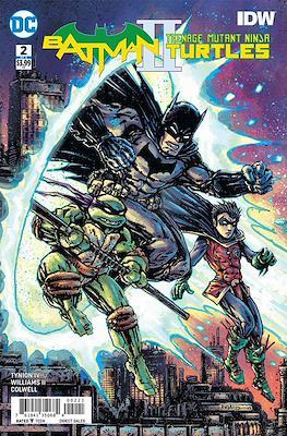 Batman / Teenage Mutant Ninja Turtles II. Variant Covers (Comic-book) #2.1