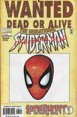 The Sensational Spider-Man (1996-1998 Variant Cover) (Comic Book) #25